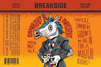 Breakside Brewery Rainbows and Unicorns